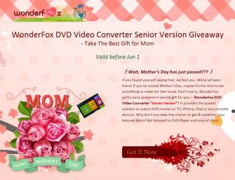 Giveaway of Love - WonderFox DVD Video Converter v8.2